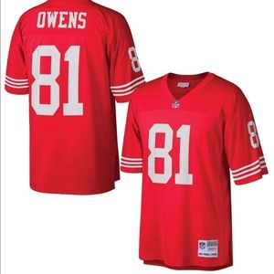 San Francisco 49ers Terrell Owens Throwback Jersey